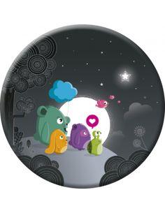 """Aurélie Houeix magnet (75mm) """"Full Moon"""""""