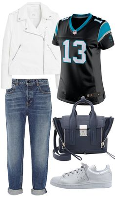 Super Bowl Outfit Ideas - Styling Your Football Jersey - Super Bowl Outfits | InStyle.com