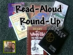 """Teachers know about the best books for reading outloud to students. This linky is a great place to share those book! Check it out! Grades 3-8 are showcased. An Educator's Life: """"Read-Aloud Round-Up"""" Book Share"""