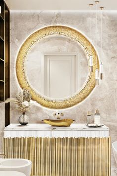 The Symphony Washbasin has the unique quality of having a contemporary style while keeping the classic look pair it with any piece of Ato Colletion in golden brass for the ultimate upscale Master Bathroom!