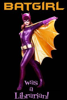 Batgirl was a Librarian ;) So if I start working in a library and wear my purple batman shirt.people will start calling me Oracle? Library Memes, Library Quotes, Library Posters, Library Books, Book Quotes, Library Signage, City Library, Reading Books, Librarian Humor