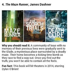 """The Maze Runner"" (info from Buzzfeed)"