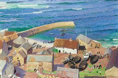 Laura Knight originally made her mark with seaside landscapes of Cornwall