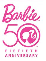 #Barbie 50 anniversary