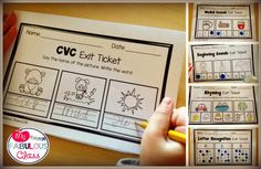 Great post on using Exit Tickets in Kindergarten.