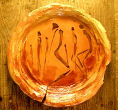 Large wall plate - Katherine Scrivens