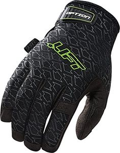 LIFT Safety Option Gloves (Black, Large)