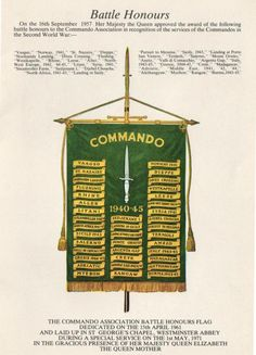 [ Commandos ] - Best Free Home Design Idea & Inspiration Green Beret, Royal Marines, Second World, Special Forces, World War Two, Troops, Battle, Two By Two, Military Flags
