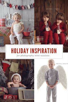 """Last year, we put together a massive 'Holiday Round-up"""" of all the holiday props and backdrops I use in my holiday mini-sessions. It was a HIT! If you haven't had a chance to read that yet, you can find that post here.I wanted to share a few more set ups from this year, and some of the…"""
