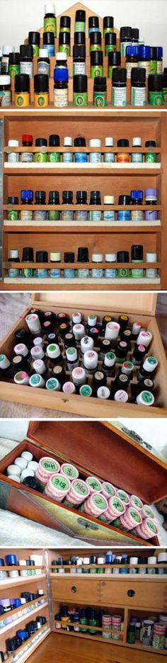 just a few essential oil cases from Eliane Zimmermann AiDA School of Aromatherapy