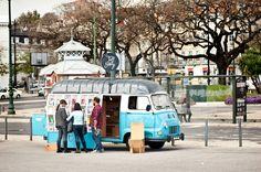 Mobile Bookstore in Lisbon