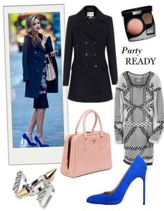 Holiday Party Outfit Ideas: Printed Dress