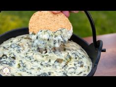 Spinach and Artichoke Dip Recipe | NatashasKitchen.com