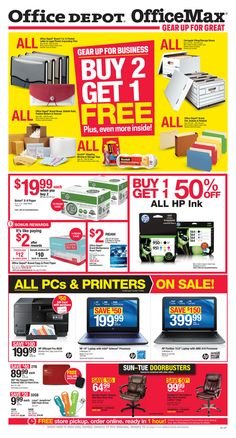 Office Depot Weekly Ad January 10 - 16, 2016 - http://www.olcatalog.com/office/office-depot-weekly-ad.html