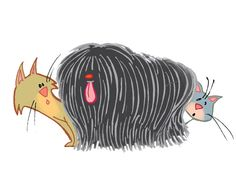 Dog cartoon characters Hungarian black puli Cartoon Dog, Cartoon Characters, Pumi Dog, Hungarian Puli, Herding Dogs, Dog Art, My Arts, Kids Rugs, Image