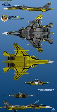 """""""Engage as a formation. No single-ship attacks."""" -Yellow 13- The Federal Erusean Air Force 156th Tactical Fighter Wing Aquila, more popularly known as Yellow Squadron. The S..."""