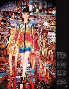 #ChiharuOkunugi & more by #EllenVonUnwerth for #VogueJapan July 2014