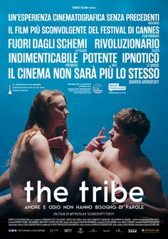 The Tribe: il film shock di Cannes 2014 arriva al cinema La gestualità per ridefinire la concezione di cinema muto. http://www.organiconcrete.com/2015/05/26/the-tribe-il-film-shock-di-cannes-2014-arriva-al-cinema/