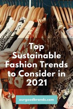 Sustainable fashion is a trend itself, with an increased desire for conscious and ethical standards when it comes to our clothing. Ultimately there are plenty of brands to choose from and here are the top 5 trends in eco-fashion to look out for in 2021. Fast Fashion Brands, Ethical Shopping, Sustainable Practices, Consignment Shops, Recycled Rubber, Clothing Items, Sustainable Fashion, Sustainability, Fashion Trends