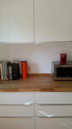 Ikea Veddinge w butcher block
