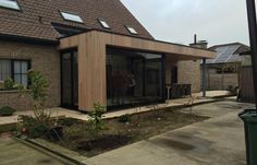 Bungalow Extensions, Garden Room Extensions, House Extensions, Conservatory Kitchen, Modern Entry, House Front, Building Design, Pergola, Exterior
