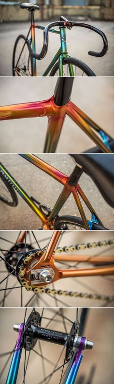 ideas fixie bike custom track for 2019 Fixi Bike, Fixed Gear Bicycle, Track Bicycle, Road Bike, Velo Retro, Velo Vintage, Paint Bike, Bicycle Painting, Velo Design