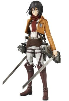 Mikasa Ackerman, arguably the best soldier of the Survey Corps, how now become the latest member of Medicom's Real Action Heroes line. Known for their extremely high quality coupled with immense poseability, Medicom's RAH figures are always eagerly anticipated by fans. Mikasa will certainly be no exception, as she comes with such a range of accessories including three separate face parts (1 limite...