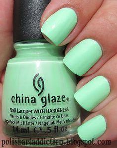 Polish Art Addict: China Glaze - Highlight Of My Summer & Shell-O