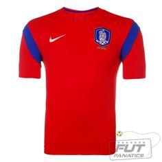 Camisa Nike Coreia do Sul Home 2014 - Fut Fanatics - Compre Camisas de Futebol Originais Dos Melhores Times do Brasil e Europa - Futfanatics