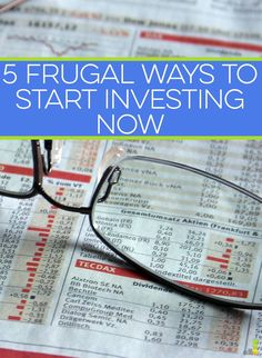 Investing in the stock market can be daunting to many. With a frugal mindset, you can get started down the road of investing in no time. How to Invest