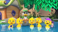 Dave & Ava 5 Little Ducks