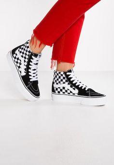 89cf72a712 SK8-HI MTE - Sneakersy wysokie - black night true white   Zalando.pl 🛒