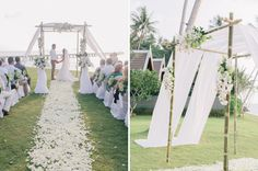 Wedding Arch - Care of Hello May Magazine