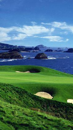 Kauri Cliffs Golf Course, Resort, North Island, New Zealand,