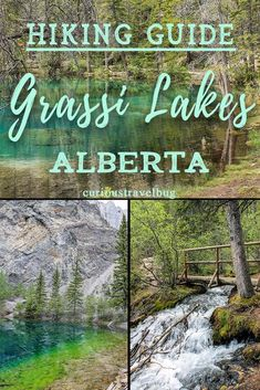 Grassi Lakes in the Rocky Mountains Alberta, Canada Hiking Guide, Hiking Trails, Travel Guide, Travel Plan, Hiking Gear, Adventure Holiday, Adventure Travel, Adventure Time, Calgary