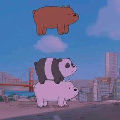 Cute Panda Wallpaper, Cartoon Wallpaper Iphone, Bear Wallpaper, Cute Disney Wallpaper, Cute Wallpaper Backgrounds, We Bare Bears Wallpapers, Panda Wallpapers, Cute Cartoon Wallpapers, Animes Wallpapers
