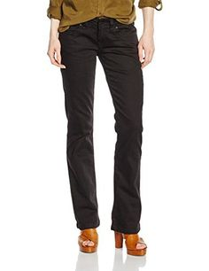 Cross Jeans Women's Boot Cut Jeans CROSS- Bestseller with stretch for a perfect fit comes in the color black. The narrow fitting and thigh Bootcut ensure an optical look, so your legs will seem super-long. The perfectly positioned back pockets make a sexy butt. CrossCross Jeans a lifestyle brand with true denim credentials. Now available at brandcatcher Denim for life play with it. Cross Jeanswear Co. ensures innovation in Denim is paramount to the soul of the brand. Cross J