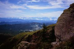 Rock to the way of Mt. Neko-dake Nagano