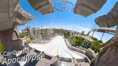 Apocalyse overlooks the Park from above with its majestic Mayan portal, giving guests the feeling they have travelled thousand. Music Clips, Vr, Apocalypse, Adventure, Travel, Viajes, Destinations, Traveling, Trips