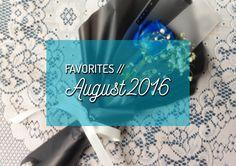 August was a lot of fun! :D #blog #lifestyleblogger #blogge #favorites #food #music #app #flower