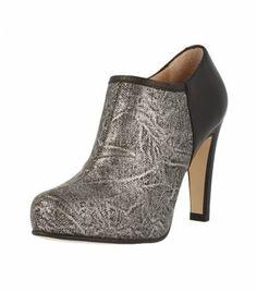 Ankle boots, Roberto Botella- black/silver