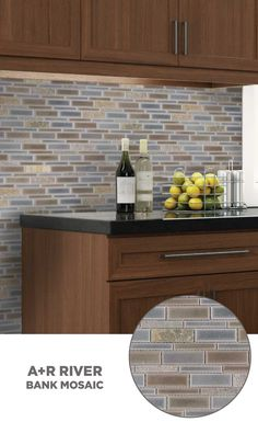 Ordinaire #tile #lowes #mosaics #glassmosaics #backsplash HI010BRBL1214 Available At  Loweu0027s And Lowes