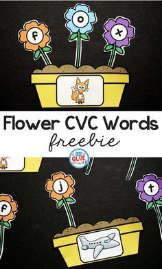 Spring is in the air and what better way to get your students in the mood than with this adorable Flowers CVC Word Building Freebie. This printable is the perfect addition to your literacy centers this spring. Your students will LOVE building cvc words - promise! #springprintables #freeliteracyprintables #CVCfreebies