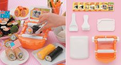 Cute Novelty Japanese Food Makers!