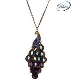 Rhea Peacock Design Ritzy Necklace, http://www.snapdeal.com/product/rhea-peacock-design-ritzy-necklace/676122?pos=81;3898