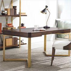 Crestaire-Vincennes Writing Desk in Porter - 436-15-04
