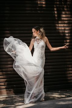 A Great dress for your photographs Dances in the wind! Best A Bcup aust/nz Cotton Lace, Dress For You, One Shoulder Wedding Dress, Photographs, Tulle, Dance, Wedding Dresses, Design, Fashion