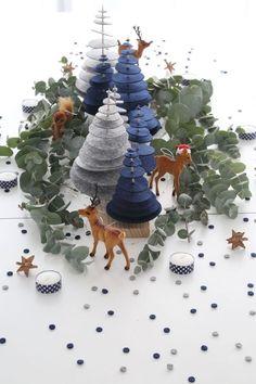 Pour votre décoration de table de Noël, découvrez 15 idées de centres de table à faire soi-même