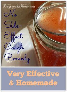 No Side-Effect Cough Remedy ~ Very Effective & Homemade. A glass jar containing the cough remedy of ginger, honey, cayenne and apple cider vinegar in water. #recipes #diy #ideas #tips #amazing #food #healing #effective #healthy #easy #cough #homemade #wellness #herbal #easyrecipe #natural #herbs #naturalremedies #health #applecidervinegar #healthyrecipes #fitness #kids #winter #cough #children #relief #childhood #parenting #mother #motherhood #remedy #medicine #ginger #honey #cayenne