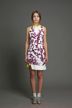 wwwelainemcgoverncom   Shop Viscose Dress, White Silk, Ss 15, Peplum Dress, Product Launch, Spring Summer, Purple, Teacher, English